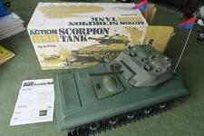 Vintage Action Man Scorpion Tank with original box & leaflet Palitoy GI Joe