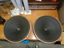 Vintage Matched Pair Of 12in Magnavox Speakers. 8 Ohms.great guitar amp speakers