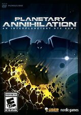 Planetary Annihilation RTS Game Standard Edition Real Time Strategy Planets