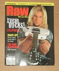 WWE October 2000 RAW Magazine WWF Wrestling Chris Jericho on Cover Oct 00