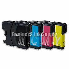 4 Pack NEW LC61 Ink Cartridges for brother printer LC61BK LC61C LC61M LC61Y LC61