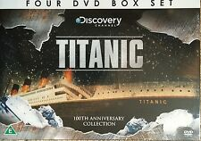 TITANIC - 4 DVD BOX SET - ANATOMY * MYSTERIES & AFTERMATH DISCOVERY CHANNEL
