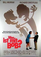 Was ist mit Bob? WHAT ABOUT BOB? Bill Murray - Filmplakat DIN A1 (gerollt)