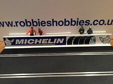 1:32 Scale Michelin Pit Wall Gulf Ninco Scalextric Carrera SCX building