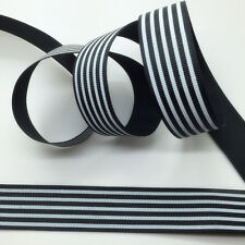 NEW~ 5 Yards 1Inch 25mm Wide Printed Grosgrain Ribbon Hair Bow DIY Sewing #B111