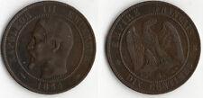 BELLE QUALITE MONNAIE DE 10 CENTIMES NAPOLEON III DE 1854 BB @ STRASBOURG @ RARE