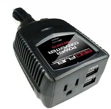 Car Power Converter 12V DC AC Inverter USB Outlet Plug Charger Cigarette Lighter