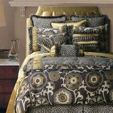 NEW Jennifer Taylor 10-Piece Cal King Comforter Bedding Set, Espresso Collection