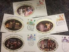 GB STAMPS FIRST DAY COVER 1985 CHRISTMAS BENHAM SINGLES SET BUY IT NOW