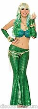 GREEN MERMAID PRINCESS OF THE SEA LEGGINGS HALLOWEEN ACCESSORY