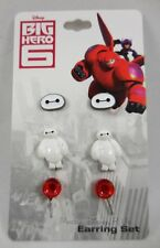 New Disney Big Hero 6 Baymax 3 Pair Post Insertion Earrings Stud Pack