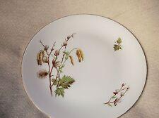 """Vintage élégant doré dîner assiette ridgway pussy willow staffordshire 10"""""""