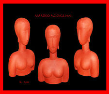 A.MODIGLIANI *GRAND BUSTE ROUGE*GROßES ROTES BRUSTBILD