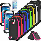 For Samsung Galaxy S4 Mini i9190 i9195Hybrid Heavy Duty Impact Case Hard Cover
