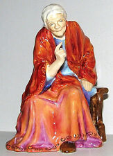 #2924 Royal Worcester Grandmother Figurine The Fortune Teller by Freda Doughty