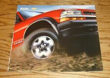 Original 2004 Chevrolet Blazer Deluxe Sales Brochure 04 Chevy