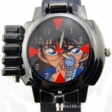 Anime Detective Conan Infrared Glass Red Light Laser Analog Boy Wrist Watch SZ