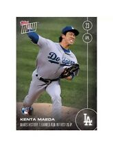 KENTA MAEDA 2016 Topps Now ROOKIE CARD RC Only 784 Cards In Existence LA Dodgers