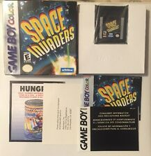 Space Invaders (Nintendo Game Boy Color, 1999) COMPLETE w/ Box,Manual Near Mint