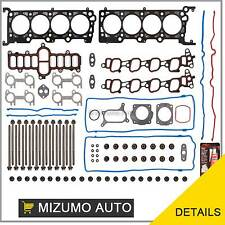 Head Gasket Set Bolts Fits Ford Mustang GT Grand Marquis 4.6L V8 SOHC 16v