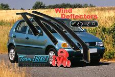 Volkswagen Polo 1994-2001 Hatchback  Wind Deflector 4 pcs HEKO (31119)