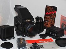 Mamiya RZ67 Pro II with 110mm lens and prism finder deluxe camera outfit. Ex++