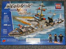 Frigate Navy BricTek Building Block Construction Toy Bric Tek Brick Boat Ship