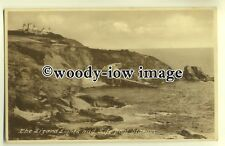 tp0189 - Cornwall - Early View of Lizard Lights & Life Boat Statiion - postcard