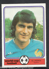 (ZZ) Monty Gum World Cup 1982 Football Card No 64 - Guillou - France