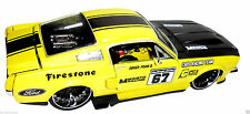 Ford Mustang Supe Fast Street Muscle Car Auto DieCast Model 1 24 Miniature Toys