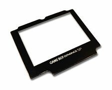 GAMEBOY ADVANCE SP  GBA SP REPLACEMENT LENS SCREEN with LOGO UK Seller