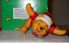 """DISNEY'S  """"WHINNIE THE POOH"""" PORCELAIN ORNAMENT """"GROLIER COLLECTABLES"""" MIB!"""
