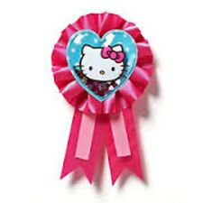 Hello Kitty Party - Birthday Girl Glitter Badge  - FREE POST IN UK