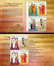Traditional Wedding Costumes, Culture Malaysia 2009 (Booklet) MNH
