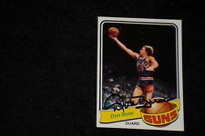 DON BUSE 1979-80 TOPPS SIGNED AUTOGRAPHED CARD #114 SUNS