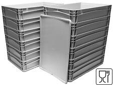 12x Pizzateigbehälter +1x Deckel gratis  Pizzaballenbox Teigbehälter 60x40x12cm