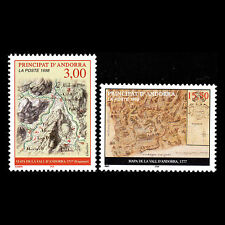 Andorra 1998 - Old Maps - Sc 500/1 MNH