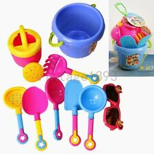 Beach Sand Castle Water Bath Kid Children Education Toys Bucket Spade Tools Set
