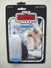 Vintage STAR WARS 'Wampa Fur' NOVELTY CUSTOM on Empire Strikes Back style MOC