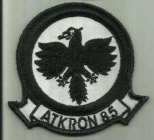 ATKRON 85 US.NAVY PATCH VA-85 BLACK FALCONS WAR AIRCRAFT PILOT AVIATION SAILOR