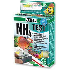 JBL Ammonia Ammonium Test Kit Set NH3 NH4 for Fresh Water and Marine Aquariums