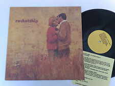 ROCKETSHIP A CERTAIN SMILE, A CERTAIN SADNESS 1996 SLUMBERLAND MADE IN USA  LP