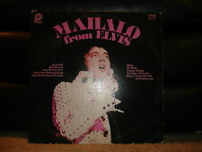 "Pickwick ACL-7064 Elvis Presley - Mahalo From Elvis  1978 12"" 33 RPM"