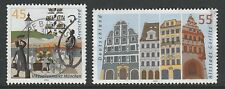 Germany 2003 German Cities sheet stamps SG 3231-3232 FU