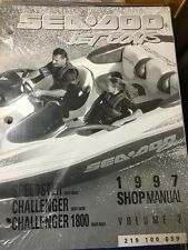 SEA DOO MANUAL FOR SPEEDSTER 5602-08 CHALLENGER 5603-06 CHALLENGER 1800 5600-01