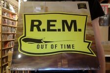 R.E.M. Out of Time LP sealed 180 gm vinyl + download RE reissue