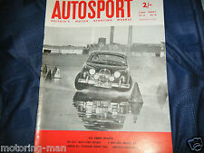 MARCOS GT FAMOUS FEATURE AND THE JOHN ALEY MINI JRA 85 TESTED 1961