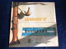 LE GROUPE X FRRRRRIGIDARE Rare 1973 Italy LP INSTRUMENTAL PROG Archive UNPLAYED