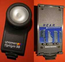 ILLUMINATORE UNOMAT HIGHLIGHT 50, 50W / 6V PER SONY V8 Hi8 E PANASONIC VHSC