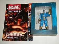 Eaglemoss Marvel Fact Files #3 THANOS COSMIS SPECIAL